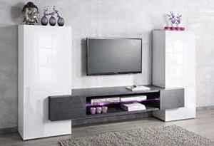 Wohnwand Mediawand Wohnzimmerschrank Fernsehschrank TV Schrank TECNOS Akka  | Wohnzimmerschrank Hängend  | Wohnwand